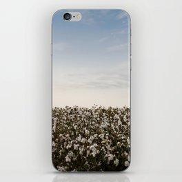 Cotton Field 2 iPhone Skin