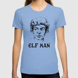 The Enigmatic Elf Man ink design T-shirt