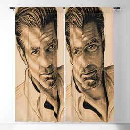 George Clooney Blackout Curtain