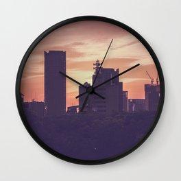 Osaka Sunset Wall Clock