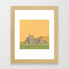 City #1 Framed Art Print