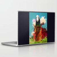 chihiro Laptop & iPad Skins featuring no face by ururuty