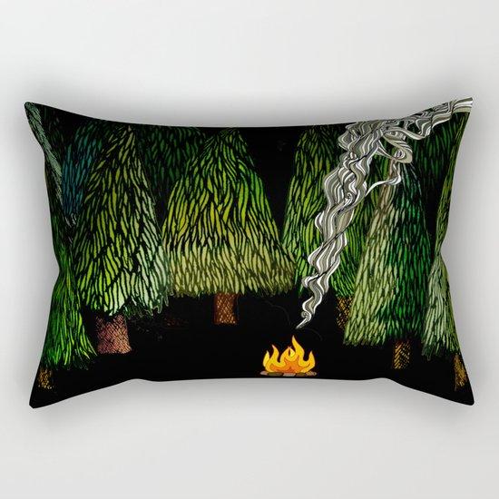 Campfire Rectangular Pillow