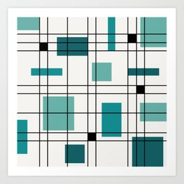 Rectangle Art Prints Society6