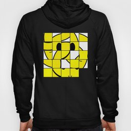 Acid Smiley Shuffle Puzzle Hoody