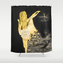 Ancient Queen Shower Curtain