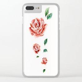 f a l l i n g Clear iPhone Case