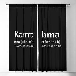 The Karma Definition Blackout Curtain