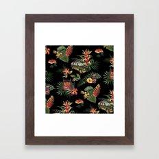 Classic Jurassic Framed Art Print