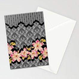 Azelea Border Stationery Cards