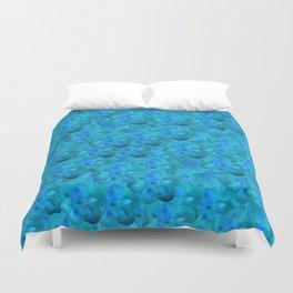 Blue in Bloom Duvet Cover