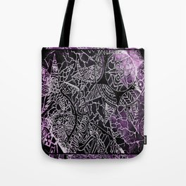 My Fissured Universe Tote Bag