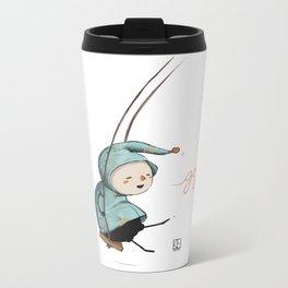 Goji on the swing Metal Travel Mug