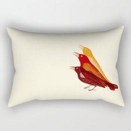 bad tweet Rectangular Pillow