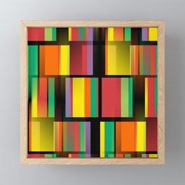 City Nights - Abstract Framed Mini Art Print