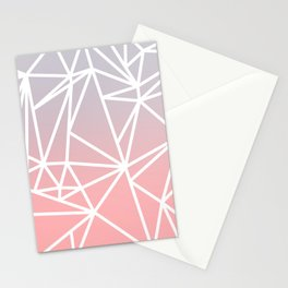 Gradient Mosaic 1 Stationery Cards