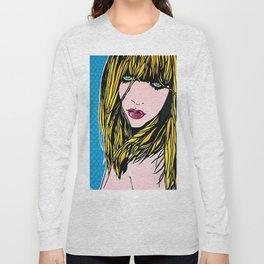 ragazza pop Long Sleeve T-shirt