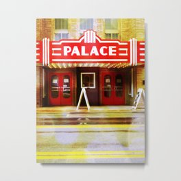 The Palace Theater Metal Print