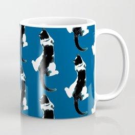 Benji the Cat 3 - Deep Blue Coffee Mug