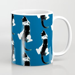 Benji the Cat 3 - Deep Blue Coffee Mug