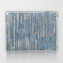 Blue Matchsticks Laptop & iPad Skin