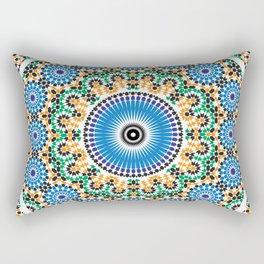 Moroccan Pattern Rectangular Pillow