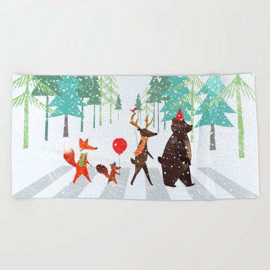 Abbey Road Beach Towel