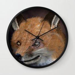 Nox The Fox Wall Clock