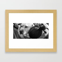 Love is... Being a Yin to your Yang Framed Art Print
