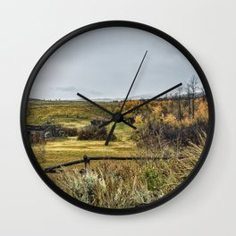 Who Needs A Roof Over Their Head Wall Clock