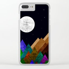 Fabulous Night Clear iPhone Case