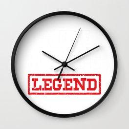 Coffee Roasting Legend Tshirt Coffee Bean Roaster Gift T-Shirt Wall Clock