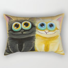 two friends Rectangular Pillow