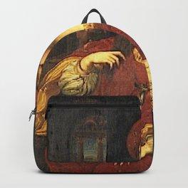 Giulio Romano - Portrait of Dona Isabel de Requesens Backpack