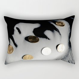 Penny Saver Rectangular Pillow