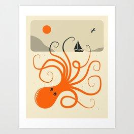 TENTACLES (2) Art Print