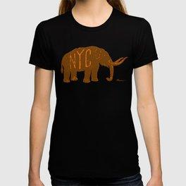 "Mastodon NYC - ""Early Settler"" T-shirt"