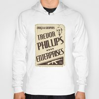 gta Hoodies featuring GTA Trevor Phillips Enterprises by Spyck