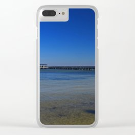 The Pier at Bokeelia II Clear iPhone Case