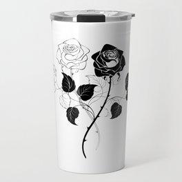 Two Roses Travel Mug
