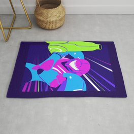The Ultimate Warrior Rug
