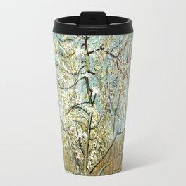 Vincent Van Gogh Peach Tree In Blossom Travel Mug