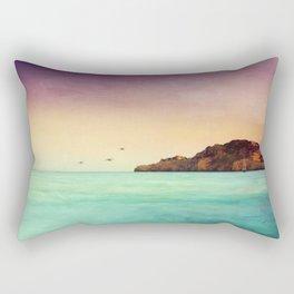 Glowing Mediterranean Rectangular Pillow