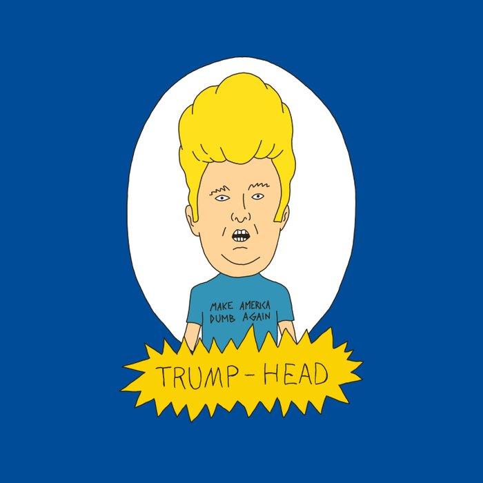 TRUMP-HEAD Duvet Cover