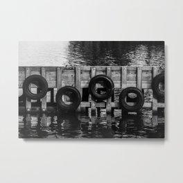 Tyre bumpers - Tasmania Metal Print
