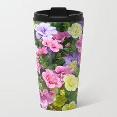 Lovely Flowers 17 Metal Travel Mug
