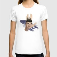 spock T-shirts featuring Spock by ErDavid