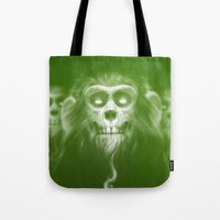 lotr Tote Bags featuring Those Who Are Dead by Dr. Lukas Brezak