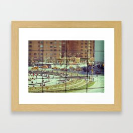 Toy Columbus Circle NYC Framed Art Print