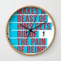 """""""HE WHO MAKES A BEAST OF HIMSGETS RID OF THE PAIN OF BEING A MAN"""" by julianesc"""